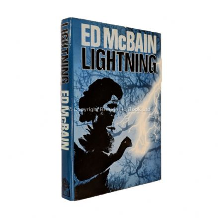 Lightning by Ed McBain​​​​​​​ First Edition Hamish Hamilton 1984
